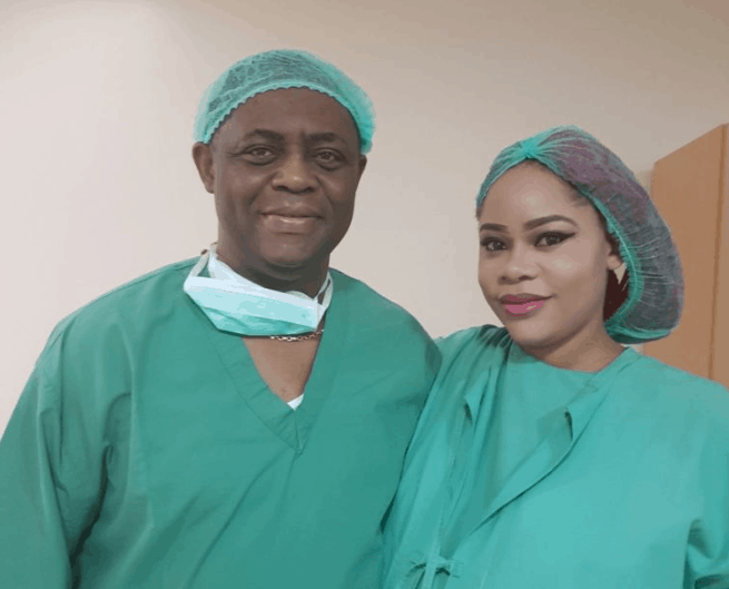 Photo of Femi Fani-Kayode and wife welcome triplets