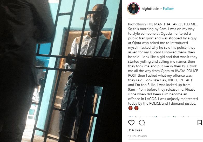 Lagos police arrests hair stylist