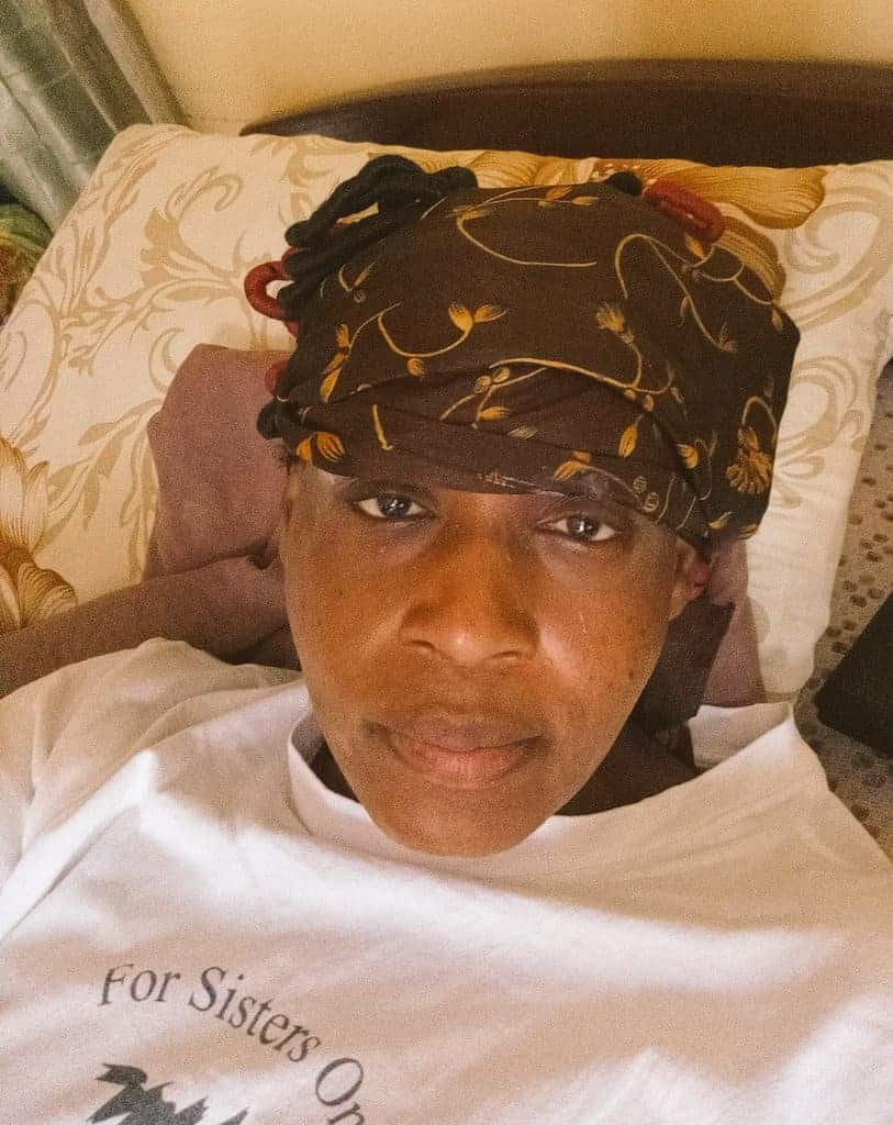 Photo of Kemi Olunloyo survives after being struck by thunder