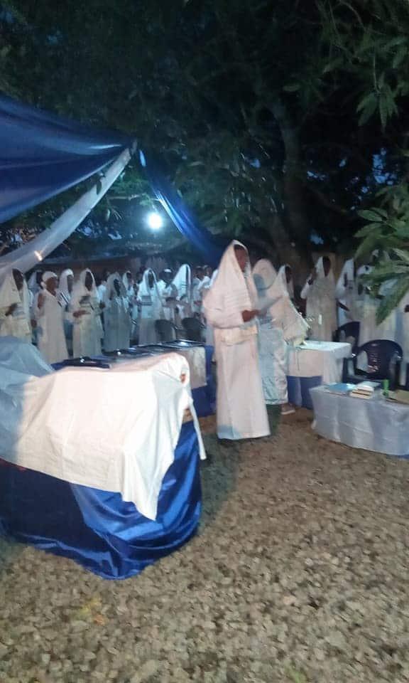 Jewish community storms the house of IPOB leader, Nnamdi Kanu