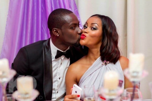 Photo of Actress Damilola Adegbite wishes her ex-husband, Chris Attoh, a happy birthday