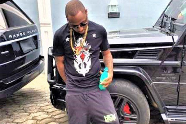 Davido shows off the amazing cars in his garage (PHOTOS)