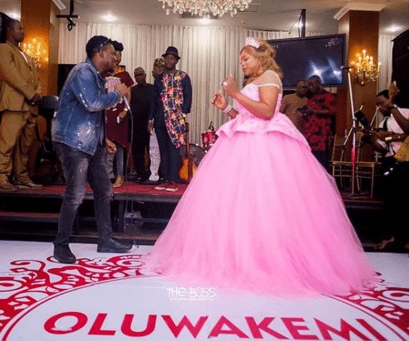 Actress Kemi Afolabi shows off her husband