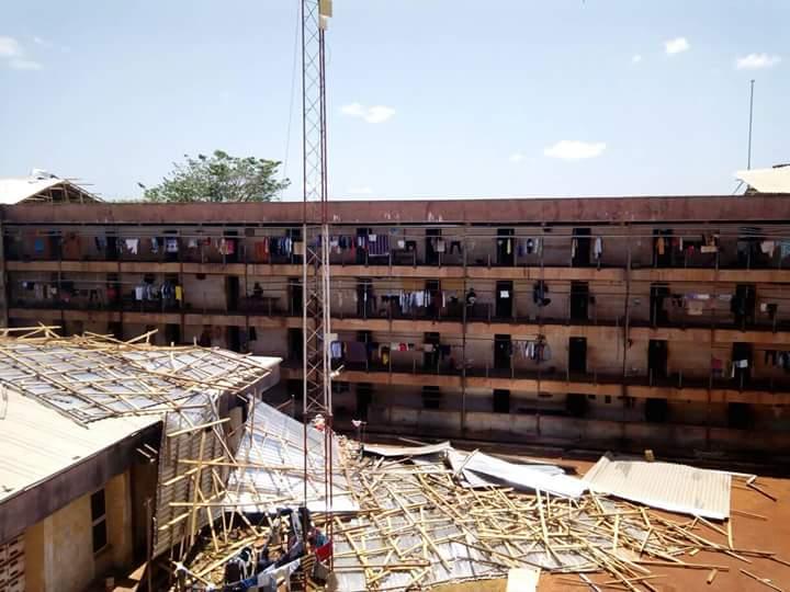 See what heavy rain did to Alvan Ikoku hostel in UNN