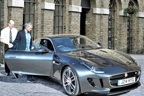 See Jose Mourinho's amazing car collection (photos)