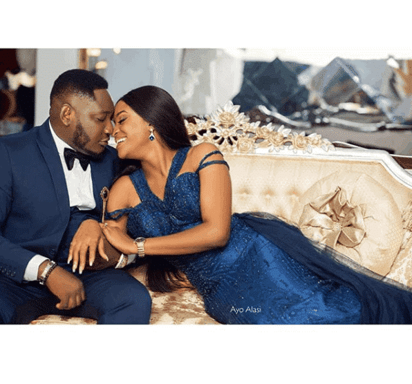 Photo of Comedian Ajebo and fiancee share lovely pre-wedding photos