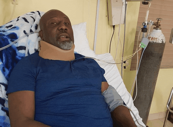 Photo of I was tied up, thrown into solitary confinement – Dino Melaye speaks on arrest