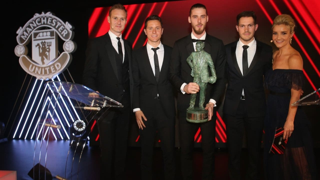 David De Gea wins Manchester United player of the year award for the 4th time