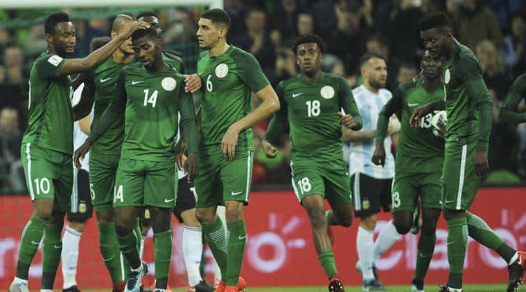 Super Eagles to play Athletico Madrid in Uyo on the 22nd of May