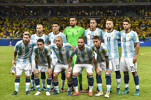 Russia 2018: Argentina releases 35-man provisional world cup squad