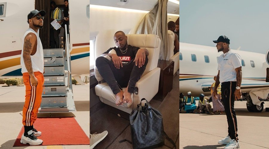 Photo of Davido lied about buying a private jet