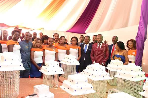 Photo of See the amount of cakes Kenyans gave to Apostle Johnson Suleman on his birthday