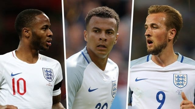 England names its 23-man squad for Russia 2018 World Cup