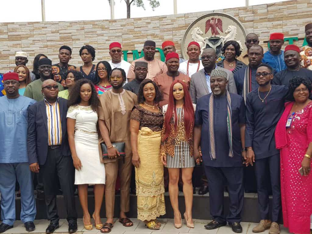 Photo of Governor Rochas Okorocha hosts BBNaija winner, Miracle at the Imo government house