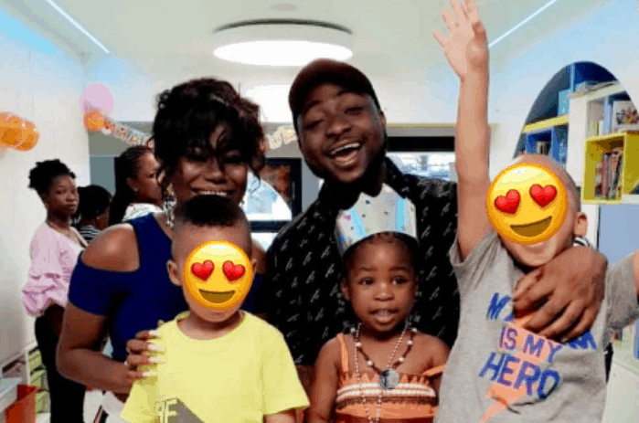 Photo of Sophia Momodu and Davido turn up for their daughter's birthday party after shading each other