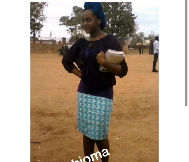 Someone Bought Her A Car After She Type: Chioma: Throwback Pictures Showing The Transformation Of