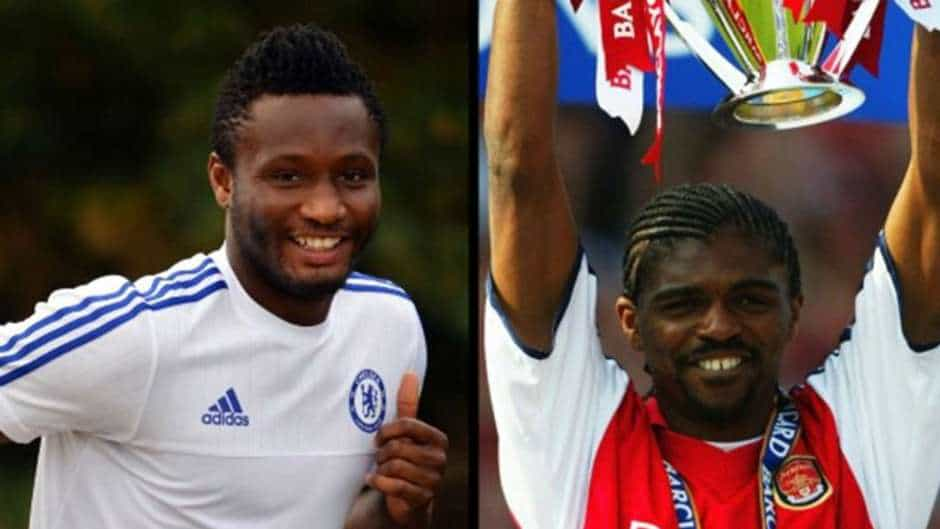 Top 10 most influential African players in EPL. Mikel, Kanu and Yakubu make list