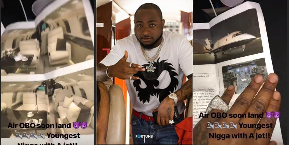 Davido becomes first musician in Nigeria to buy a private jet