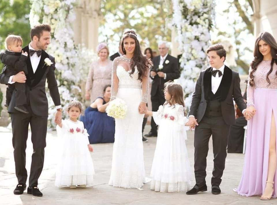 Photo of Cesc Fabregas weds Daniella Semaan, a mother of five