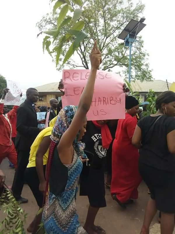 Christians protest in Nasarawa against Fulani herdsmen, demand release of Leah Sheribu