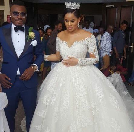 Photo of Emenike divorced Miss Nigeria 2013 and got married to Miss Nigeria 2014 – Reekado Banks