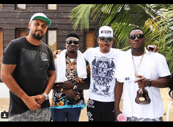 Wizkid, Shina Peller and Obafemi Martins all turned up for CDQ's birthday party
