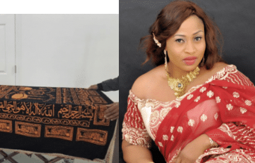 Photo of Late actress Aisha Abimbola converted to Christianity but got buried in the Islamic way