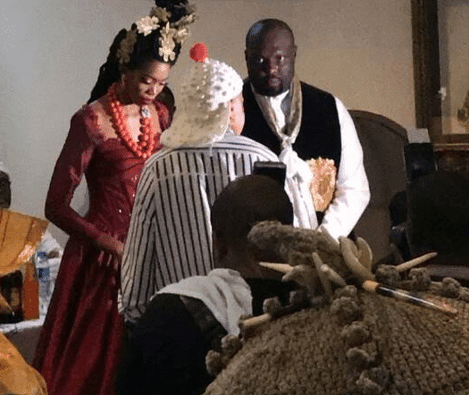 Photo of Photos from the traditional wedding of Donald Duke's daughter, Nela Duke