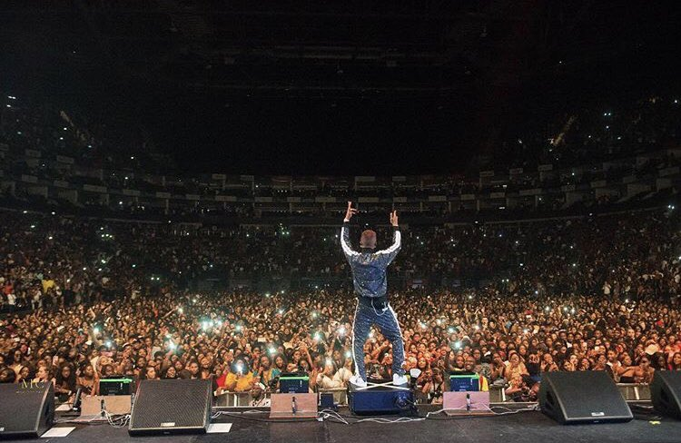 Photos from Wizkid's Afrorepublik festival were he sold out the 02 Arena in London