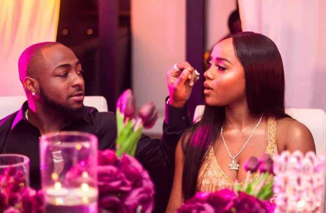 Image result for images of Chioma's birthday today and Davido