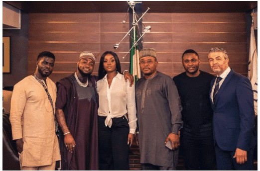 Photo of Davido secures 'Cooking Show' deal for Chioma