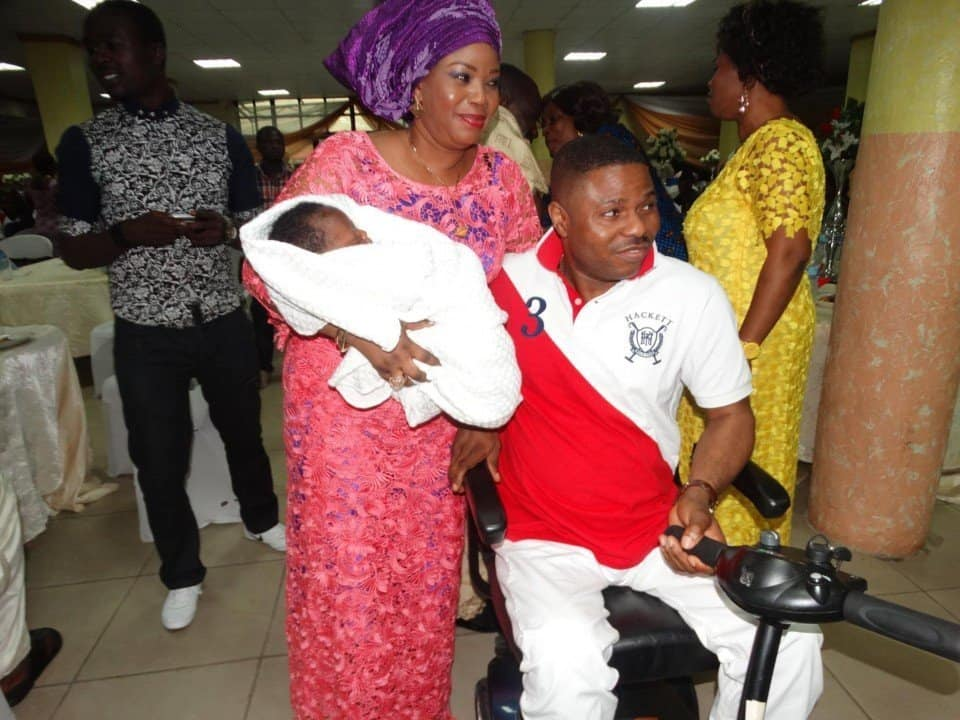 Photo of Why I went on to marry my husband after his accident – Yinka Afeyele's wife tells their emotional love story