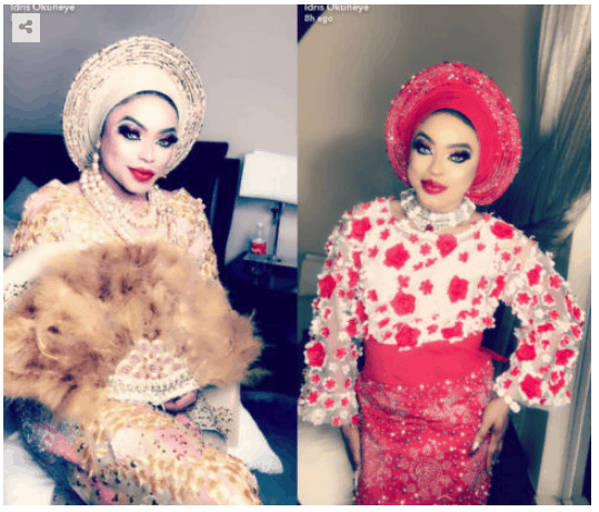 Photo of Bobrisky speaks on his fake marriage