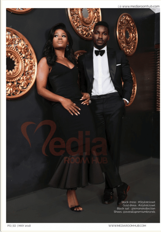Photo of Tobi and Cee-C bare it all in Mediaroom Hub Interview