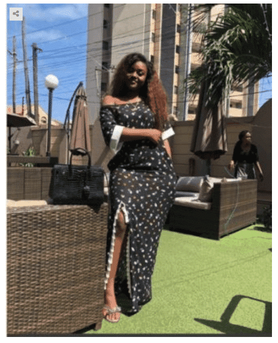 Photo of Davido's girlfriend, Chioma steps out in style