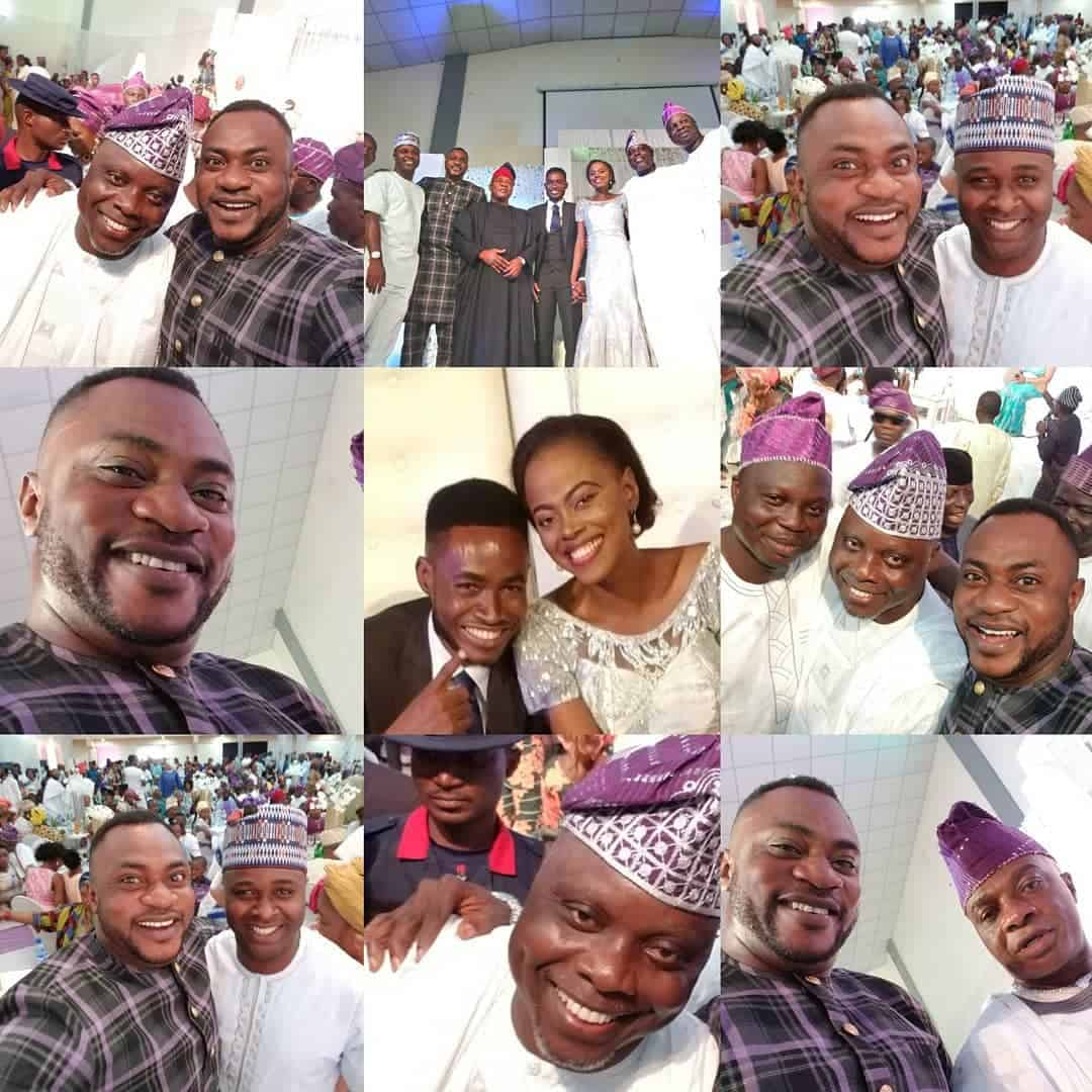 Photo of Actor Dele Odule's daughter weds in style (photos)
