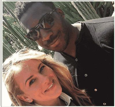 Photo of Theophilus Danjuma's Son Proposes To Louise Green, His White Fiancee