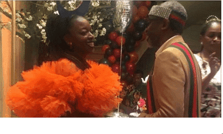 Photo of Drama as concubine's friends harass Lawmaker, Femi Gbajabiamila for N100million car gift to wife
