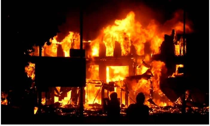 Photo of Exclusive: CBN Headquarters currently on fire!