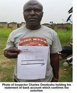 Photo of SARs operative busted for extortion of money in Lagos