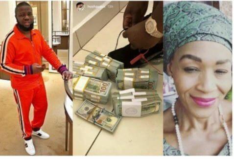 Photo of Hushpuppi flaunts $260,000 cash after Kemi Olunloyo's pleas