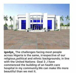 Hospital Comedian igodye