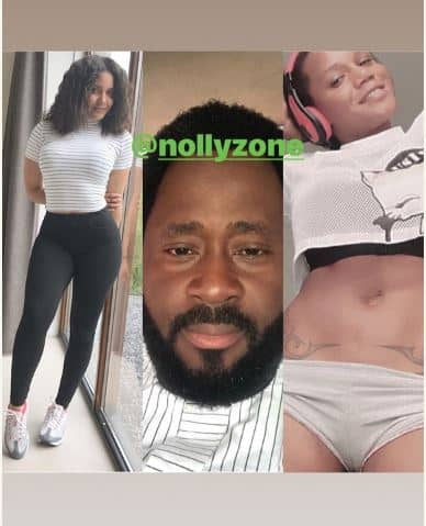 Photo of Desmond Elliot invites Maheeda's daughter to Nollywood