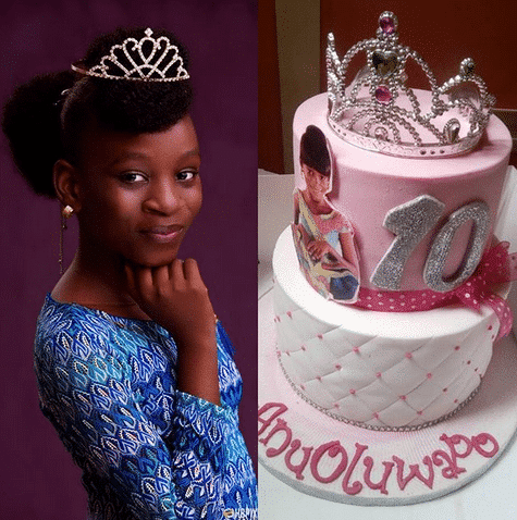Photo of Mide Martins and Afeez Owo celebrate their daughter's 10th birthday (photos)