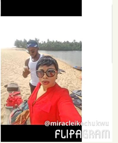 Photo of Miracle's Brother Reacts To Claim That Juliet Is His Sugar Mummy