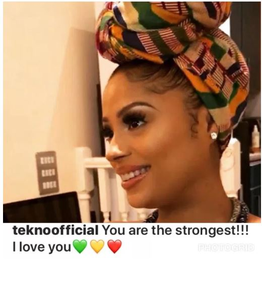 Tekno and Lola Rae welcome a baby