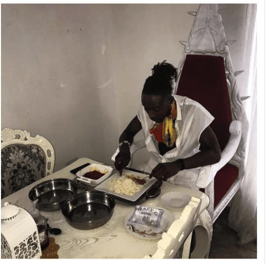 Photo of Terry G replies troll who mocked him for having sachet water on his dinning table