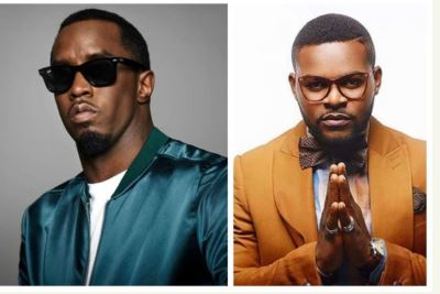 "Photo of International star, Diddy reacts to Falz' ""This Is Nigeria"""