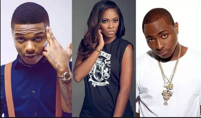 Photo of Tiwa Savage unfollows Davido on Instagram after he teased Wizkid over their relationship