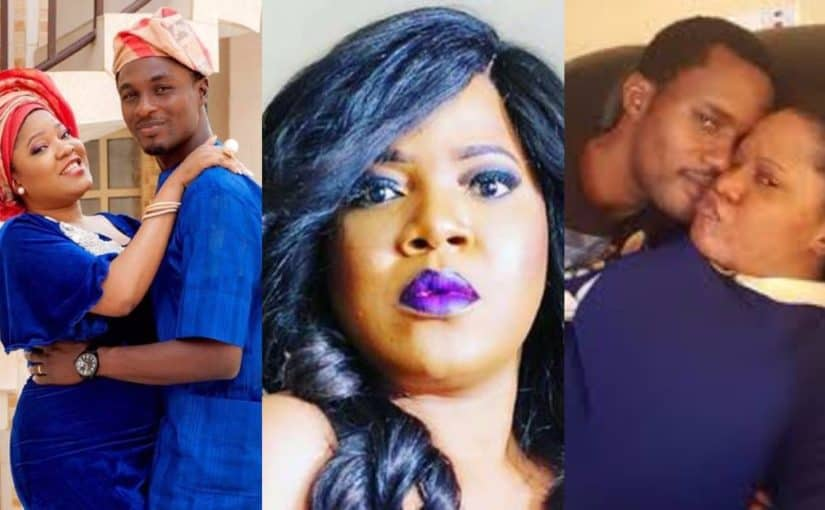 Photo of The drama between Toyin Abraham and her ex husband, Adeniyi Johnson, is not ending anytime soon